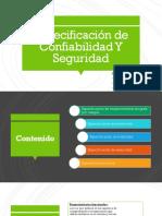 Especificación de Confiabilidad Y Seguridad.pptx