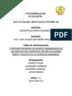 TRABAJO - ESTADISTICAS (ENCUESTAS)