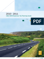 Business Tax Planning Guide 2011