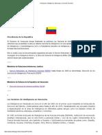 Venezuela I Inteligencia, Espionaje y Servicios Secretos