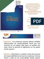 Gestión Social y Ambiental Sector Minero México.ppt