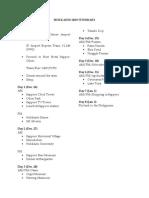 Sapporo 2019 Itinerary.docx