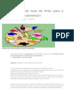 6 Planos de Aula de Artes para o Ensino Fundamental I.docx