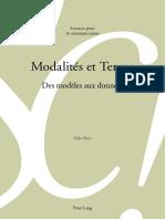 [Sciences pour la communication] Alda Mari - Modalités et Temps_ Des modèles aux données (2015, Peter Lang).pdf