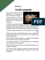 Reflexiones espirituales EL CANGREJO.docx