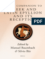 Brill's Companion to Greek and Latin Epyllion and Its Reception ( PDFDrive.com )