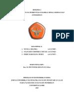 KELOMPOK 11 PERMASALAHAN PEMBENTUKAN RADIKAL BEBAS, OKSIDAN DAN ANTIOKSIDAN.docx