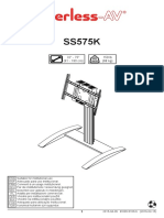 Peerless Stand Set-Up Manual
