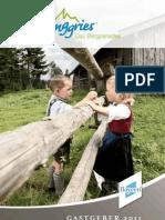 Gastgeberverzeichnis Lenggries 2011
