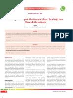 CPD 282-Penanganan Nyeri Multimodal Post Total Hip dan Knee Arthroplasty