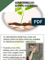 DESCRIPCIONES DEL CRECIMIENTO ESPIRITUAL. LECCION 1.pptx