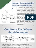 Conformaciones de los compuestos ciclohexánicos monosustituidos