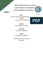Manual de instalacion de windows server 2012 - Mero Goyburo Danny Javier 2.docx