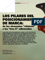 Los Pilares del Posicionamiento de Marca.