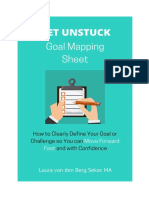 Goal Mapping Sheet - Laura van den Berg