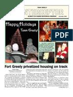 Ft. Greely Interceptor - December 2008