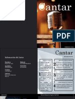 Revista Educativa Cantar