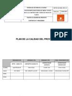 19. Plan de Gestión de Calidad y Plan de Inspección y Ensayos