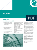 Nortel Ethernet Switch 325 - Product Brief