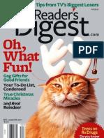 Reader's Digest Dec 2010 - Jan 2011