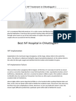IVF Implant Failure