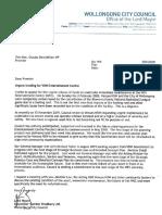 Mayoral Letter