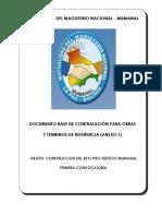 DBC PRIMERA CONVOCATORIA construccion 8vo piso