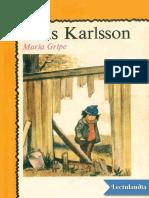 Elvis Karlsson - Maria Gripe
