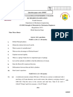 CE8395-Strength of Materials for Mechanical Engineers_Model_QP