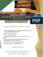 16-11-17 ACS Seminario Últimas sentencias de la CIDH