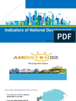 Indicators of National Development