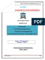 Water Resource engineering_Lecture notes.pdf