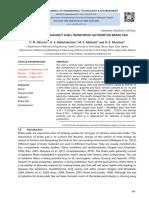 Evaluation of Sheanut Shell-Reinforced Automotive Brake Pad