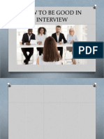 HOW TO BE GOOD IN INTERVIEW.pptx