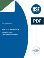 GMO Certification Scheme