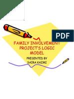 FAMILY INVOLVEMENT PROJECT'S LOGIC MODEL