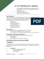 Unit 3b - Risk Analysis
