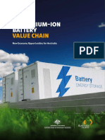 Lithium-Ion Battery Value Chain report