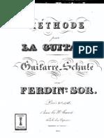 5250814 Metodo Para Guitarra Fernando Sor 1831