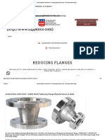 reducing flange manufacturers, reducing flange dimensions, reducing threaded flange