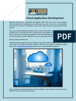 5 Tips to Ease Cloud Application Development