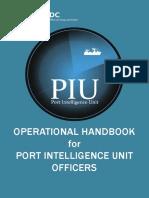 Operational Handbook for PIU Officer
