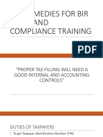 TAX REMEDIES FOR BIR CASES AND COMPLIANCE TRAINING.pptx