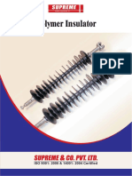 Brochure -Polymer Insulator - Supreme company - India