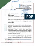 CARTA N° 62391 (NOTARÍA SAMANIEGO) 23 ENE 2020 a Juan José GARRIDO KOECHLIN (Diario El Comercio) - caso Mall Plaza Comas