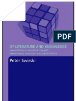 Swirski - Of Literature and Knowledge