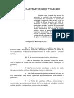 Substitutivo ao PL 7180-14