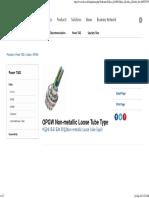 OPGW Non-metallic Loose Tube Type _ OPGW _ Taihan Fiberoptics