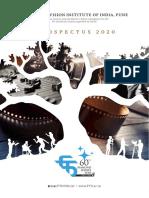 Prospectus FTII- AY-2020.pdf