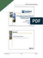 IPv6 Solutions on Juniper Networks